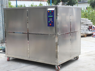 1500L Oil Filtration Industrial Ultrasonic Cleaner , 10800W Ultrasonic Cleaning Equipment